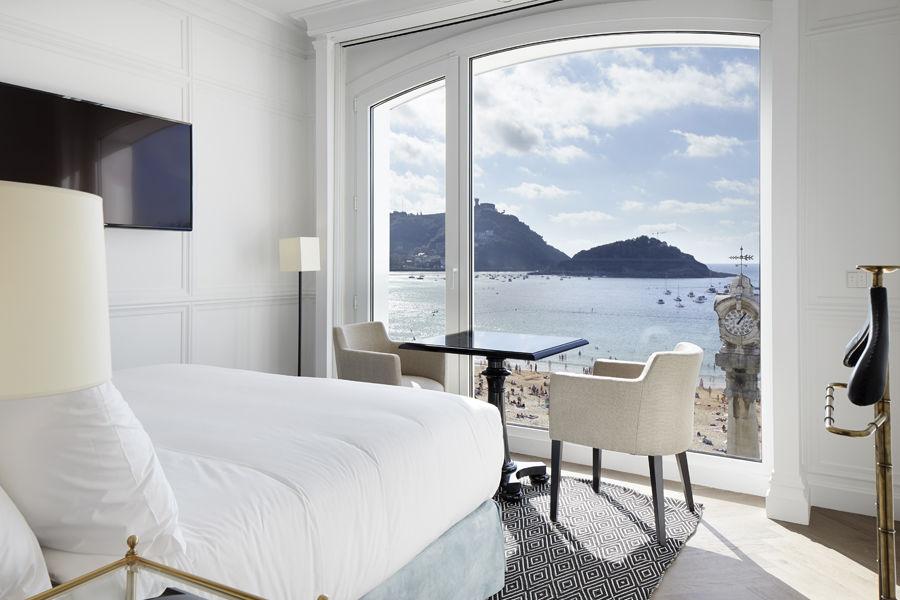 Chambre Double avec vue panoramique sur la mer