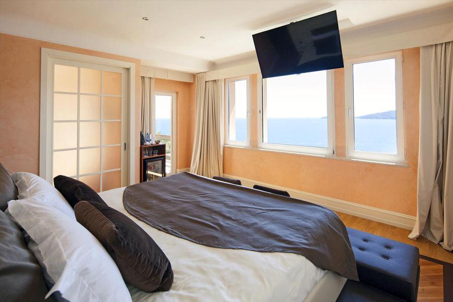 Chambre Deluxe avec balcon vue mer