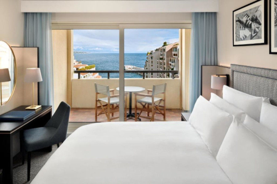 Chambre Deluxe avec terrasse vue mer